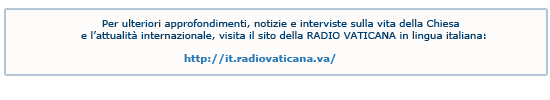 Sito Radio Vaticana